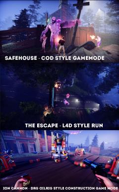 Game modes screenshot